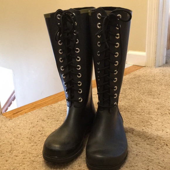 chooka Shoes   Chooka Lace Up Rainboots